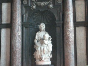 Michelangelo\'s Madonna with Chile in Brugge