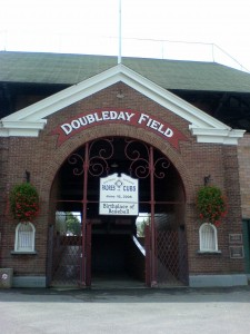 Doubleday Field, the birthplace of Baseball