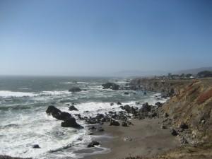 Somewhere along the California coast