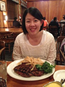Me and my 20oz cowboy steak